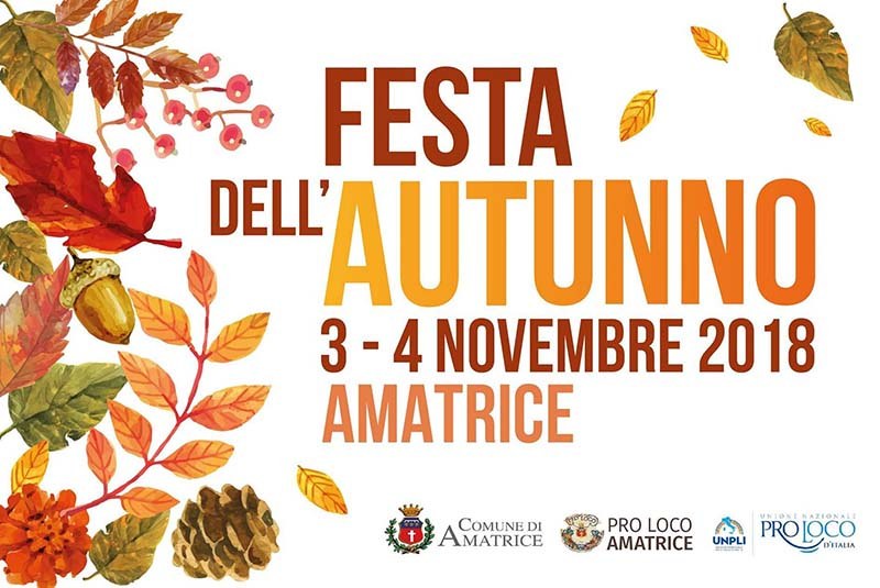 Festa dell'autunno Amatrice 2018