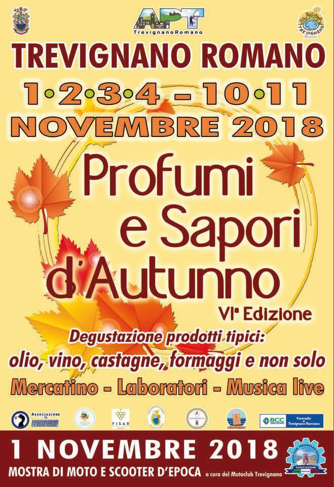festa d'autunno Trevignano Romano 2018