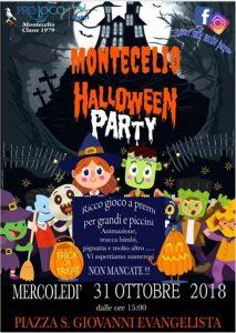 festa di Halloween 2018 a Guidonia Montecelio