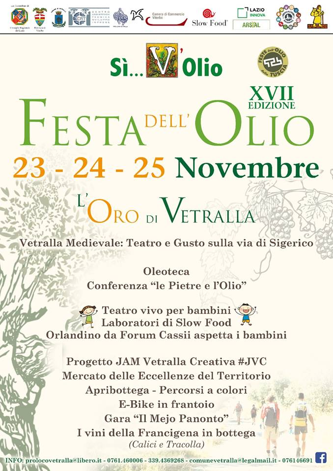 Festa dell'olio Vetralla 2018