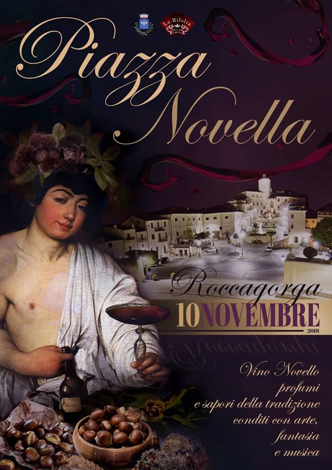 Festa del vino novello 2018 Roccagorga (LT)