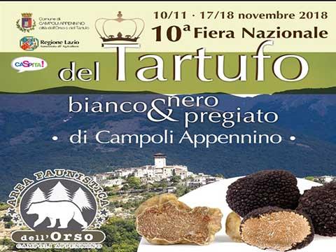Fiera del tartufo 2018 Campoli Appennino (FR)