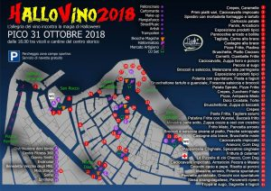 pianta di Halllvino notte di Halloween Pico 2018