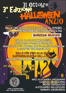notte di Halloween Anzio 2018