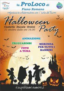 festa di Halloween Fiano Romano 2018