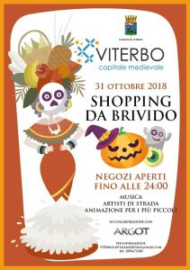festa di halloween Viterbo 2018