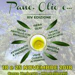 sagra dell'olio Montelibretti 2018