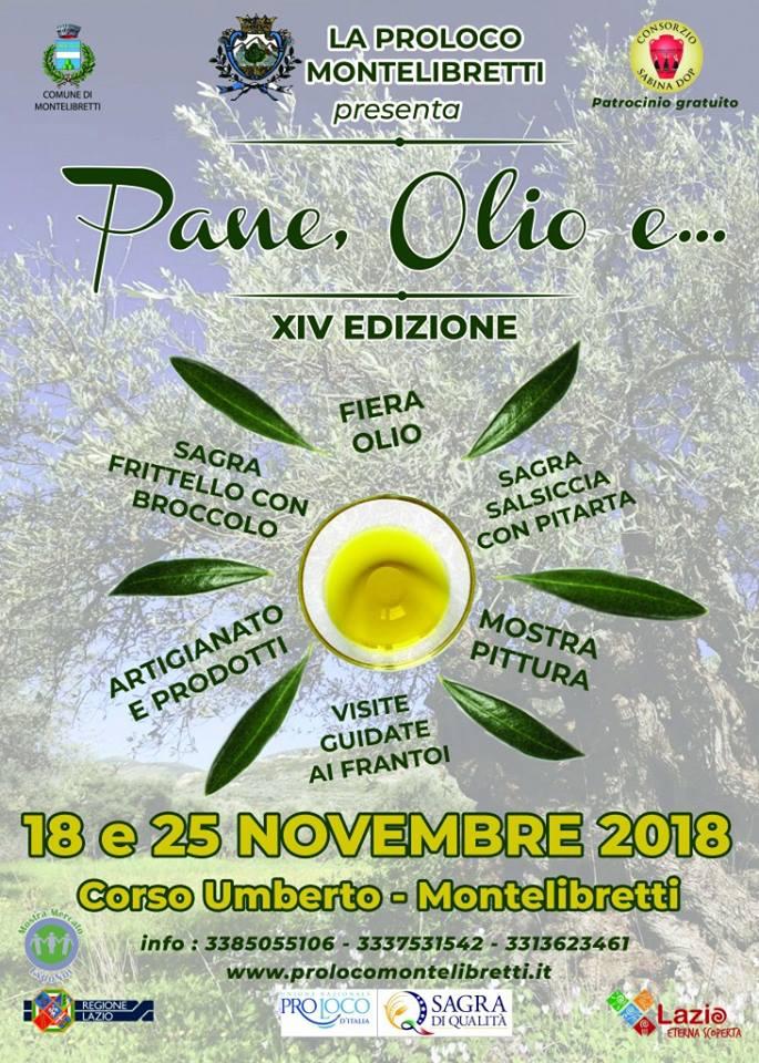 Pane, Olio e... Montelibretti 2018