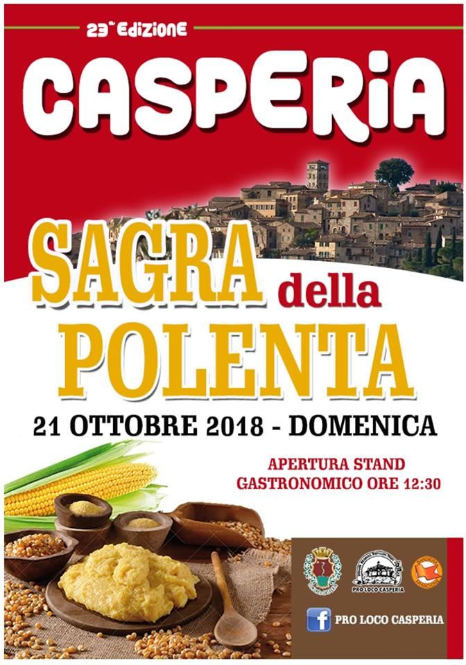 Sagra della polenta 2018 - Casperia (RI)