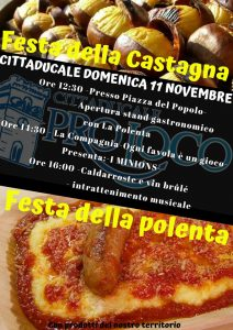 Festa della castagna e polenta 2018 Cittaducale (RI)