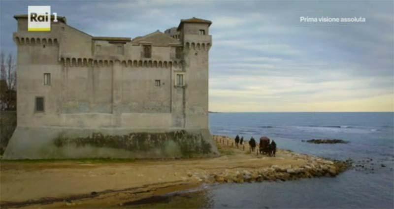 """""""I Medici"""" serie tv location: il castello di Santa Severa"""