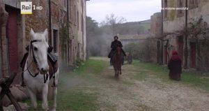 I Medici serie tv s01e08 Stuart Martin nel borgo di Rota