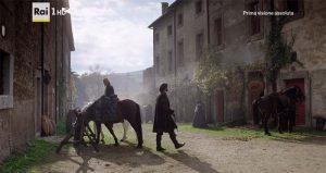 I Medici serie tv s01e08 Lorenzo arriva al borgo di Rota dove si trova Ferzetti