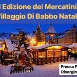 Villaggio di Babbo Natale e mercatini Montorio Romano 2018