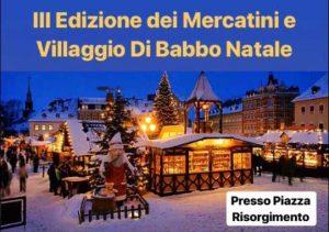 Mercatini e villaggio di Babbo Natale a Montorio Romano: Natale 2018