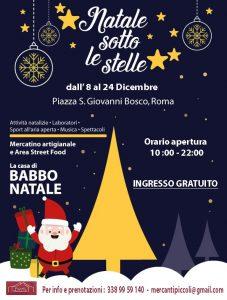 Natale sotto le stelle a piazza San Giovanni Bosco, Roma