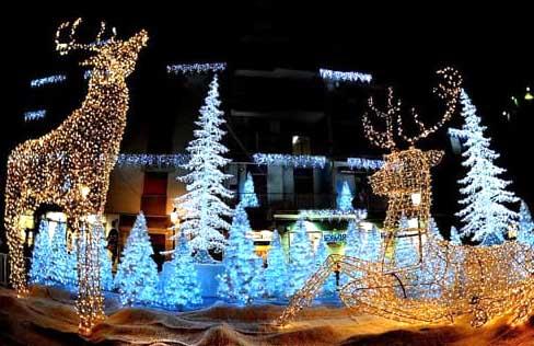 luci di Natale Ariccia 2018-2019