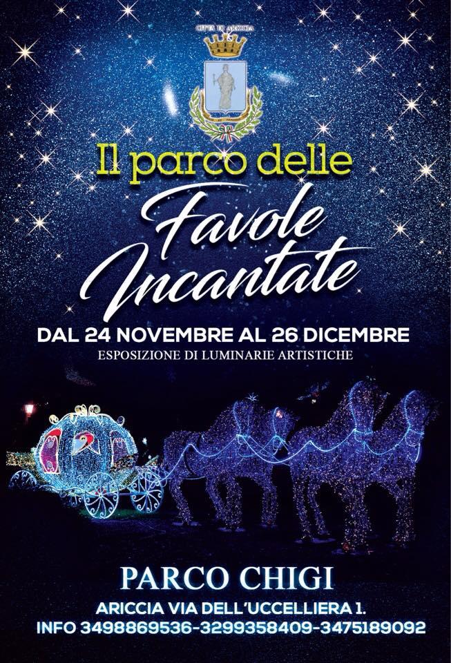 Le luminarie artistiche Ariccia 2018