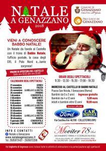 il programma degli eventi di Natale a Genazzano 2018