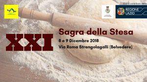 Sagra della stesa 2018 Strangolagalli (FR)