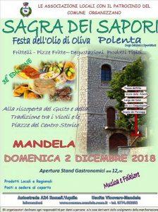 Sagra dell'olio e della polenta 2018 Mandela (RM)