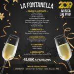 Capodanno 2019 a Bracciano con La Fontanella