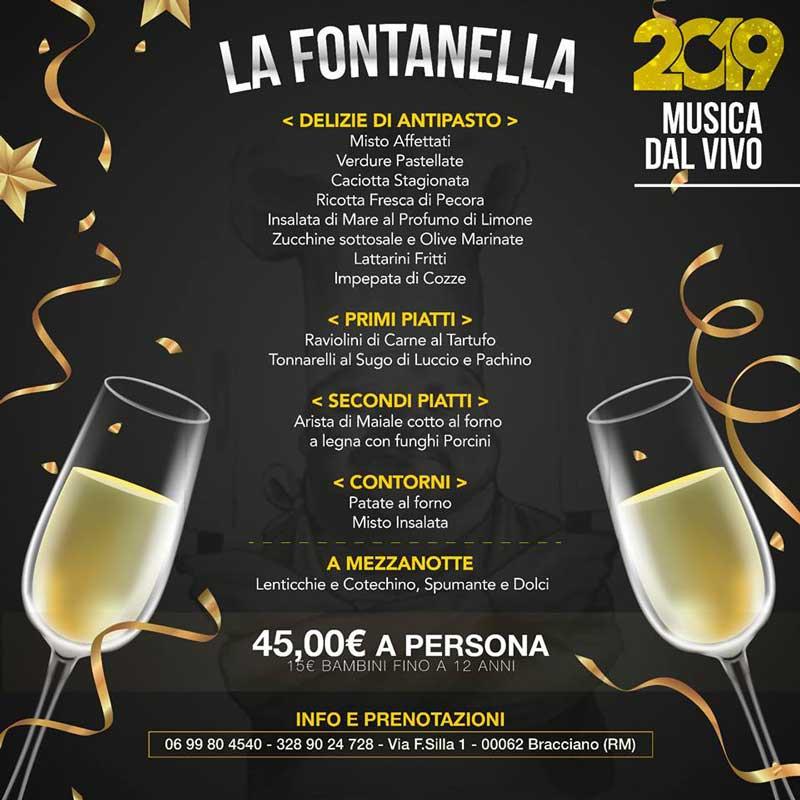 Capodanno 2019 low cost a Bracciano