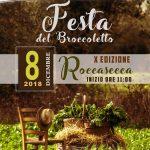 sagra del broccoletto Roccasecca 2018