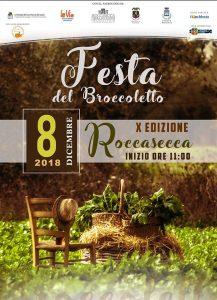 Festa del broccoletto 2018 Roccasecca (FR)