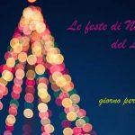 il calendario delle feste del periodo natalizio nel Lazio