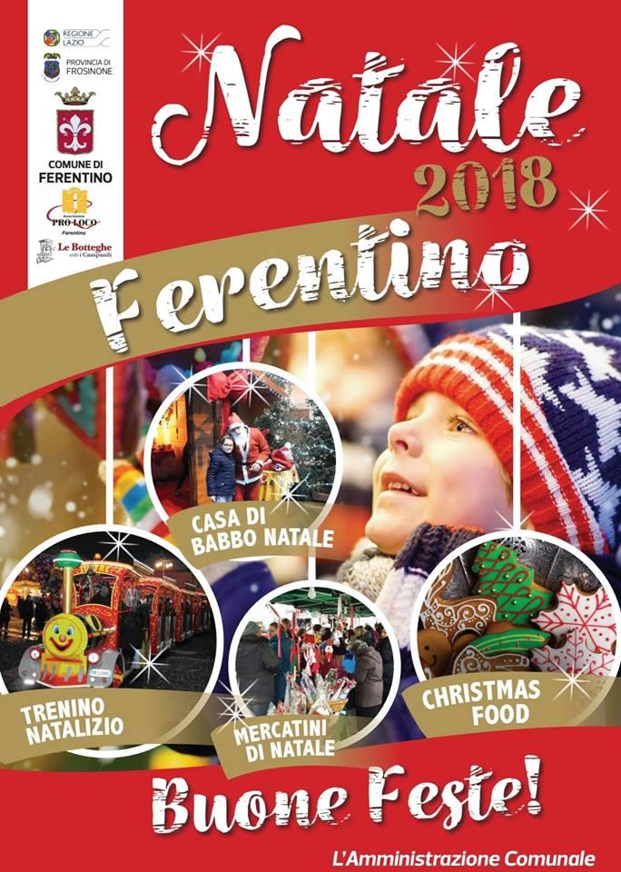 mercatini di Natale a Ferentino 2018