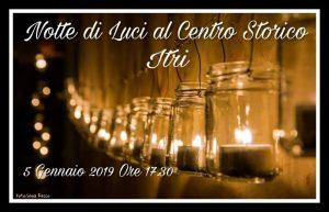 Notte di luci 2018 nel centro storico di Itri (LT)