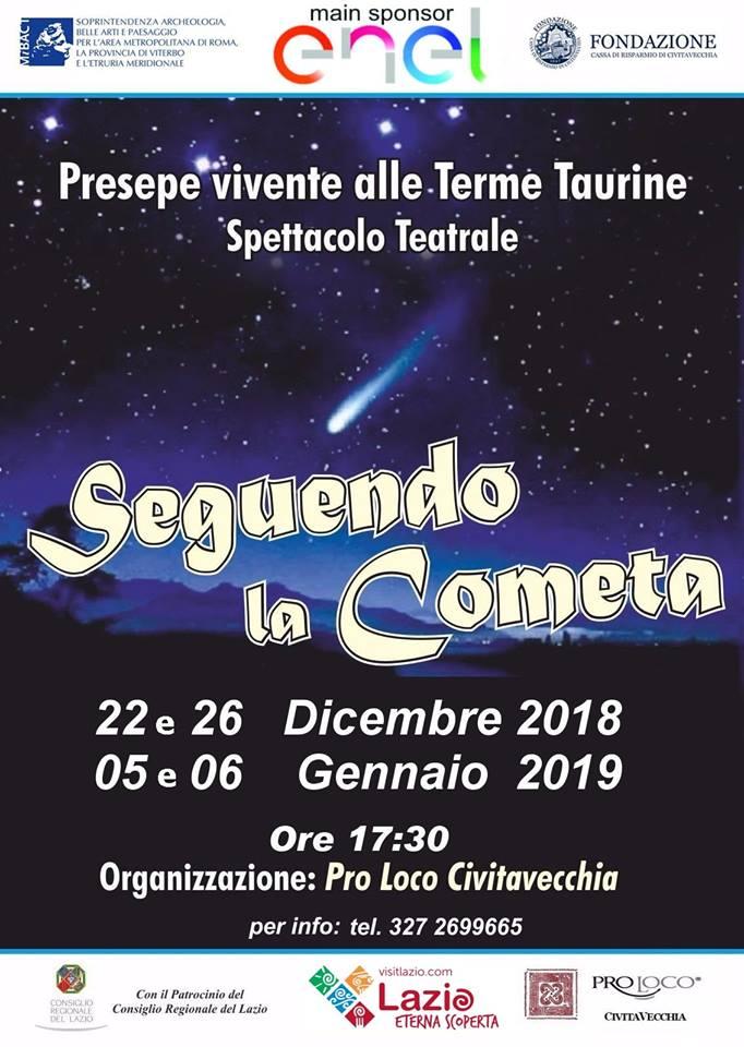 Presepe Vivente Civitavecchia 2018-2019 alle Terme di Traiano