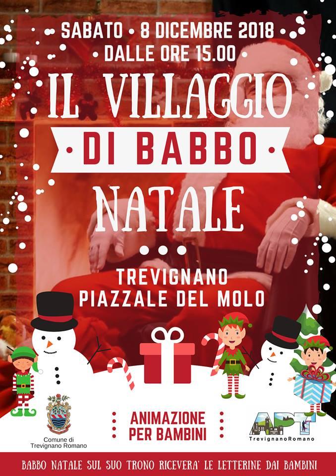 mercatini natalizi in piazza del Molo a Trevignano Romano