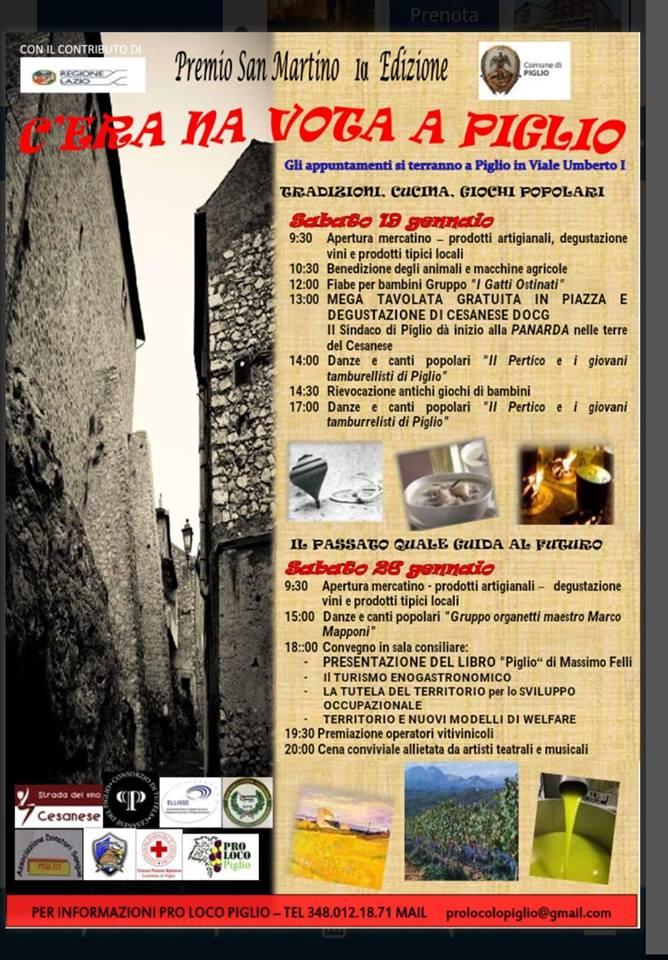 Festa di Sant'Antonio Abate Piglio 2019