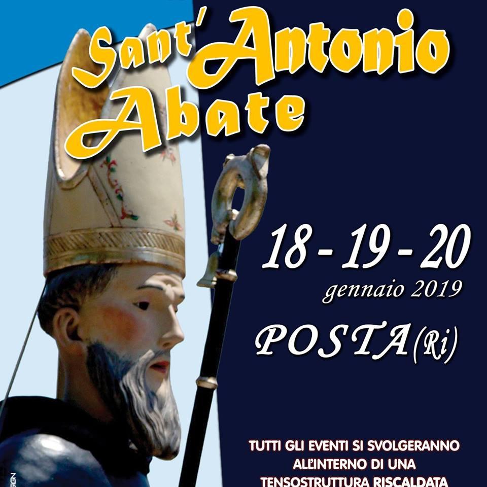 Sant'Antonio Abate 2019 Posta (RI)