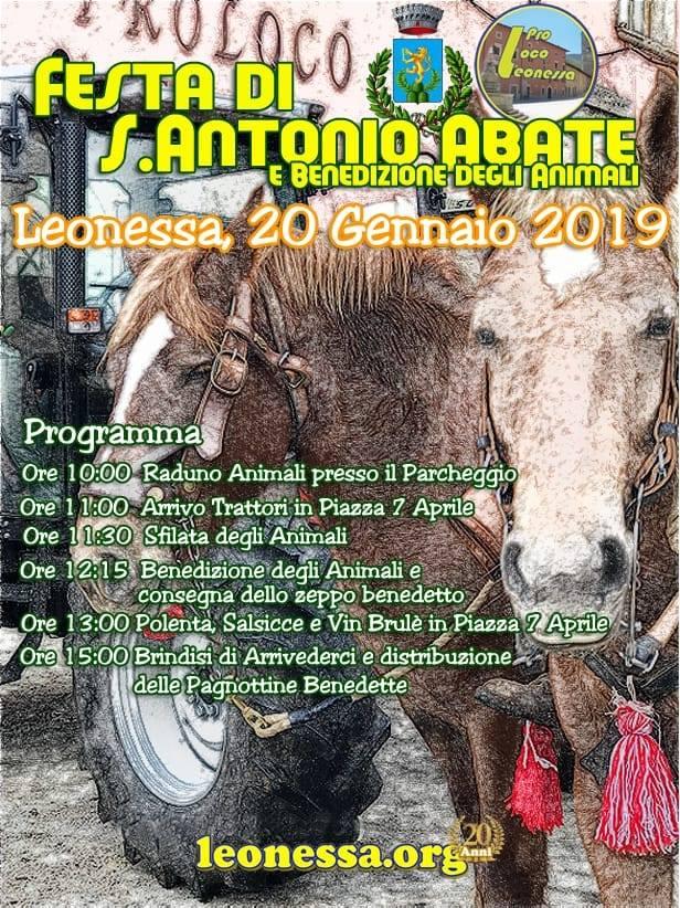 Festa di Sant'Antonio Abate Leonessa 2019