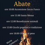 Festa di Sant'Antonio Abate Marta 2019