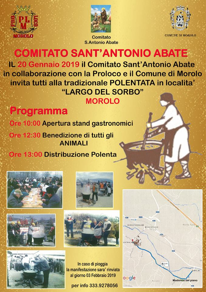 Festa di Sant'Antonio Abate a Morolo (2019)
