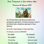 benedizione degli animali Ciciliano 2019