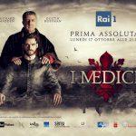 locandina della serie tv I Medici trasmessa dalla Rai