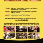 Polentata di Sant'Antonio Morolo 2019
