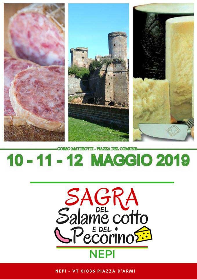 sagra del salame cotto Nepi 2019