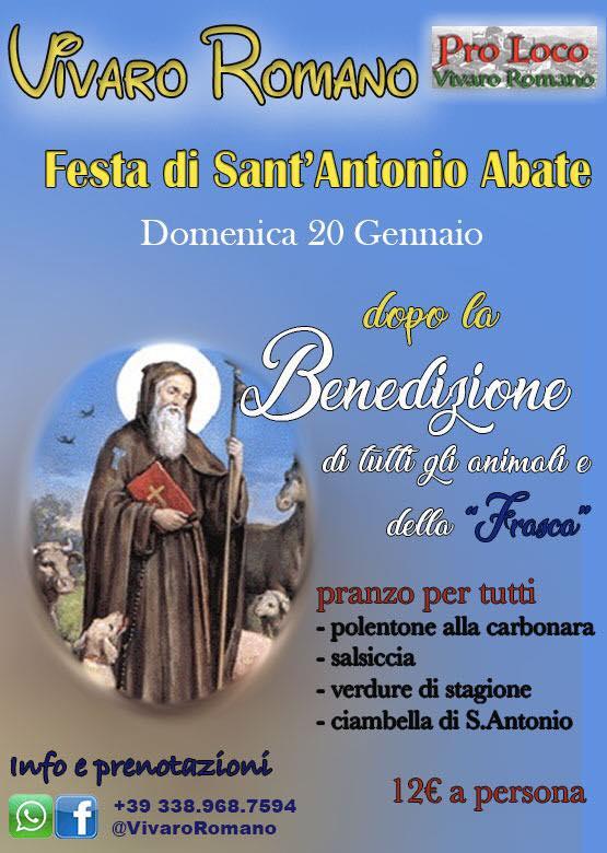 Festa di Sant'Antonio Vivaro Romano 2019