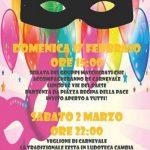 programma carnevale Blera 2019
