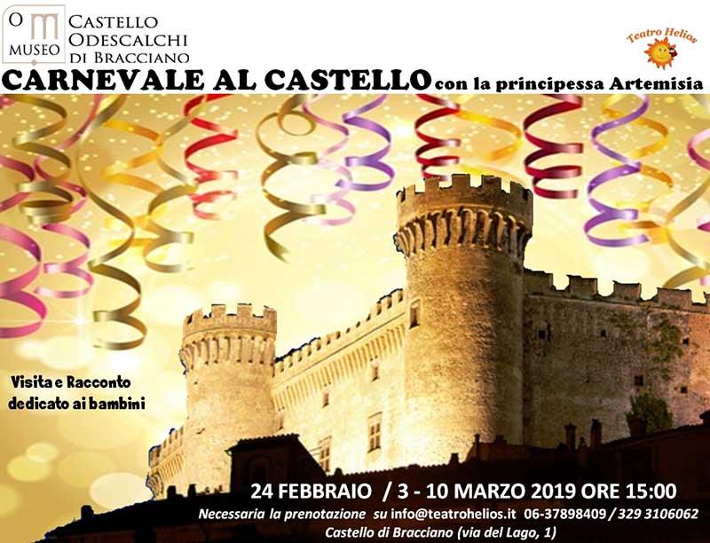 carnevale castello Odescalchi Bracciano 2019