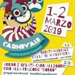 sfilata di carri e maschere a Castelnuovo Parano 2019