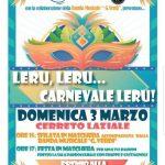 Carnevale Cerreto Laziale 2019