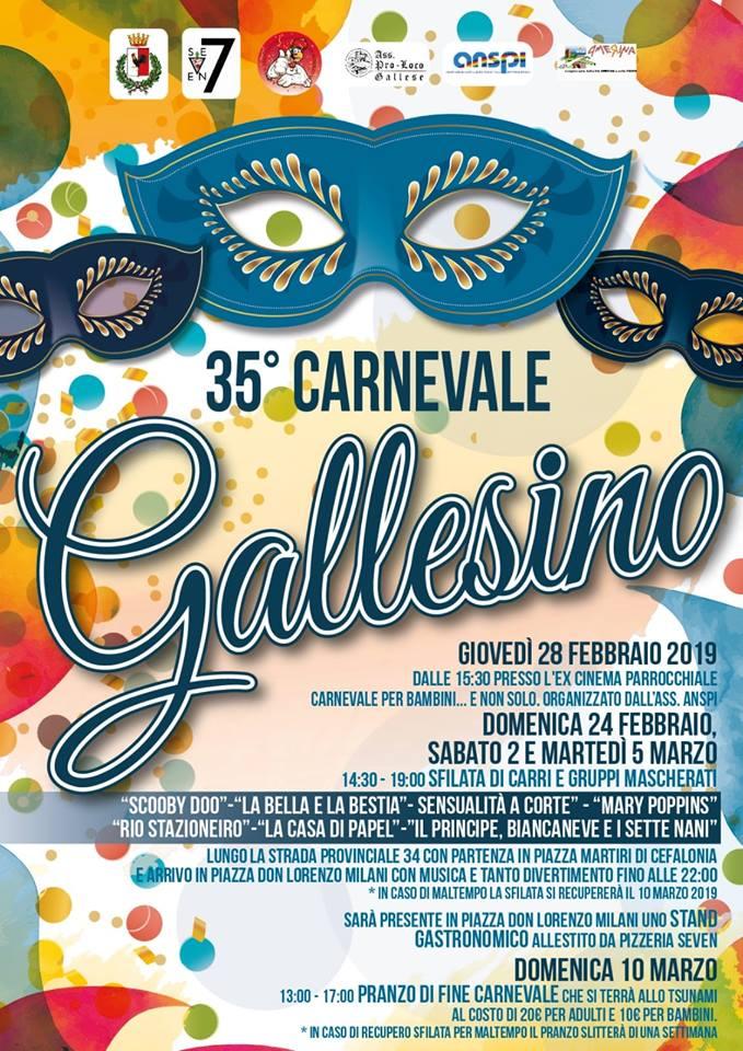 Carnevale 2019 Gallese (VT)