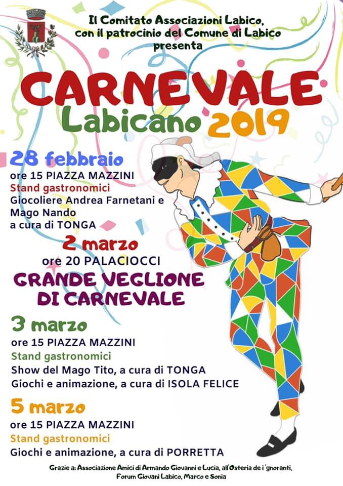 Carnevale 2019 Labico (RM)